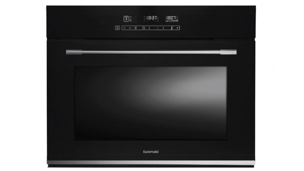 Euromaid Eclipse 750mm 9 Function Full-Touch Built-in Oven – Black