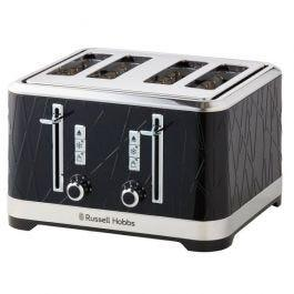 Russell Hobbs Architexture Collection 4 Slice Toaster – Black
