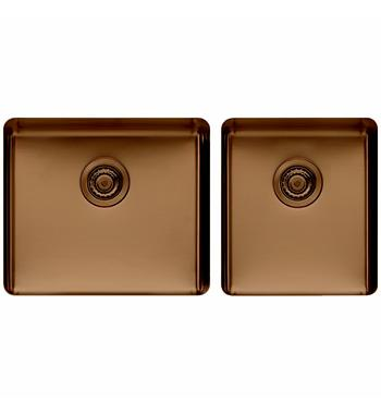 Titan large and Medium Bowl Sink Champagne TSCH4052
