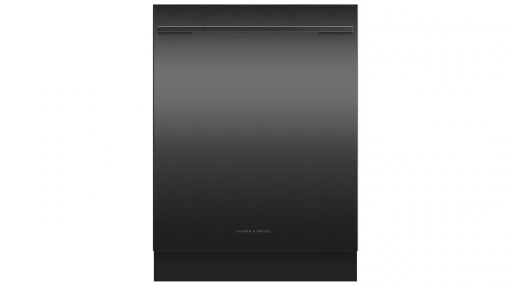 Fisher & Paykel 15-Place Setting Built Under Dishwasher with Handle – Black