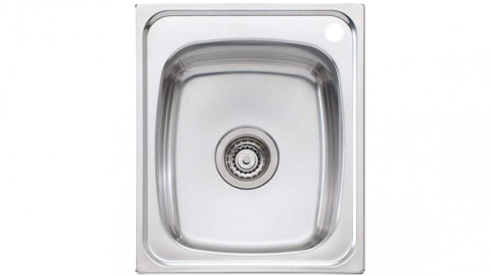 Oliveri Martini 440 Standard Bowl Topmount Sink with 1 Tap Hole