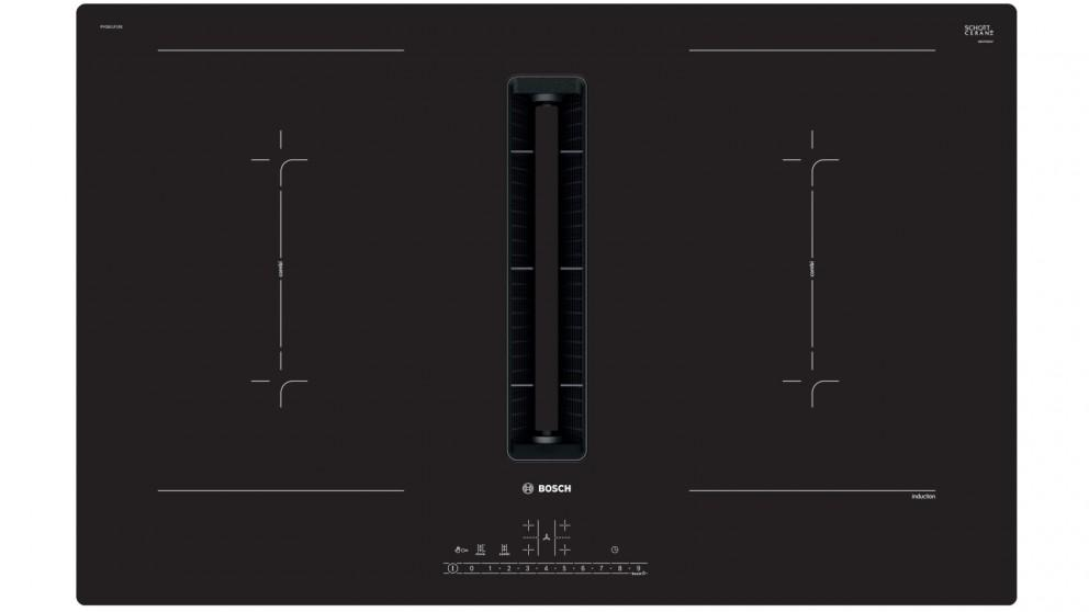 Bosch 800mm Series 6 4 Zone Induction Cooktop with Integrated Ventilation System
