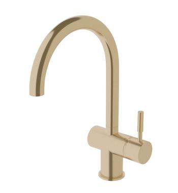 Sussex Taps Brushed Brass Gold Voda Sink Mixer Tap VSMC-40