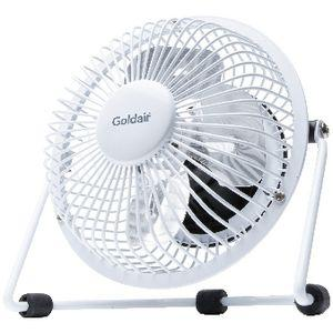 Goldair USB Mini Fan 10cm White