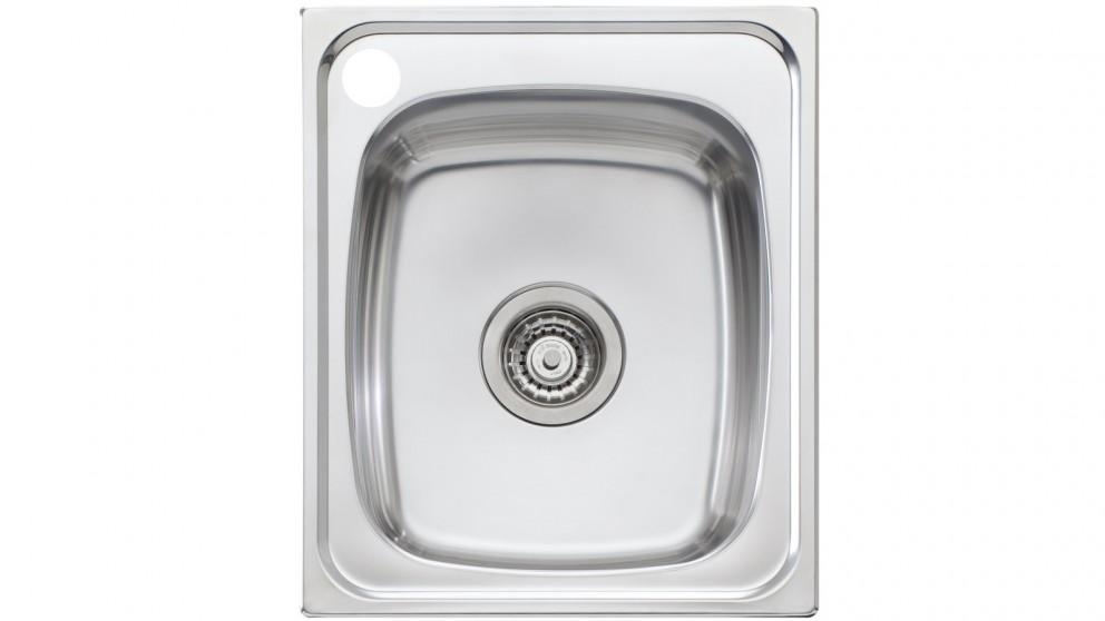 Oliveri Martini 440 Standard Bowl Topmount Sink with 1 Left Hand Tap Hole