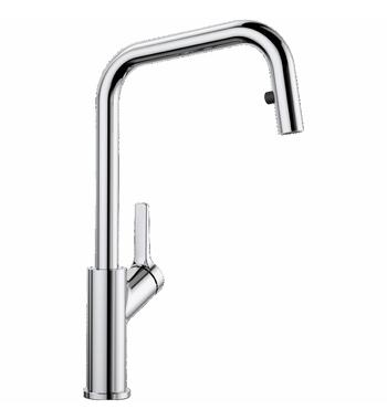 Blanco JURENA High Arch Pull Out Spray Mixer Tap JURENAS