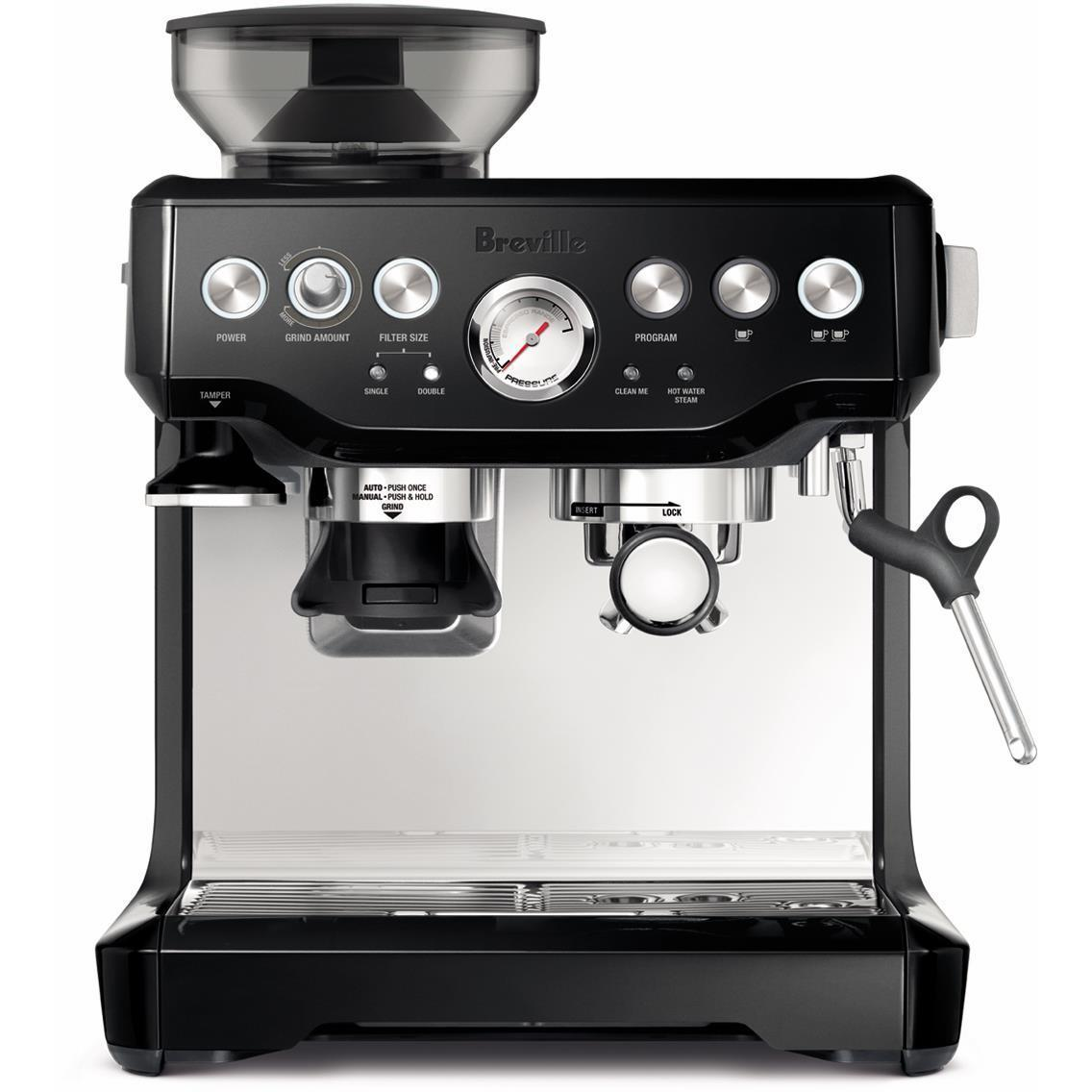 Breville the Barista Express Manual Coffee Machine (Liquorice)
