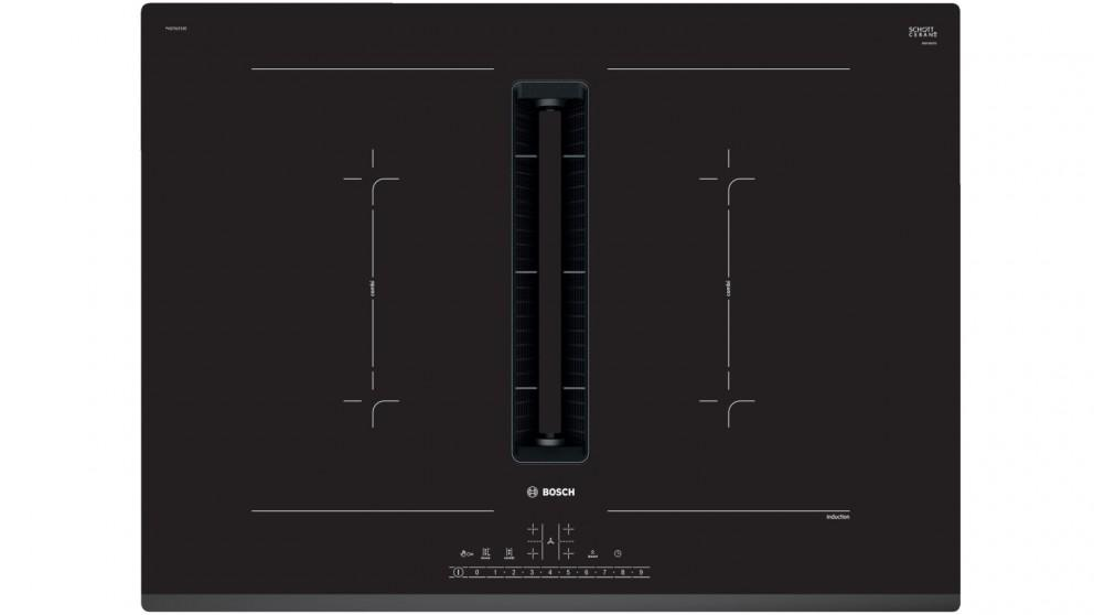 Bosch Series 6 700mm 4 Zone Induction Cooktop with Integrated Ventilation System