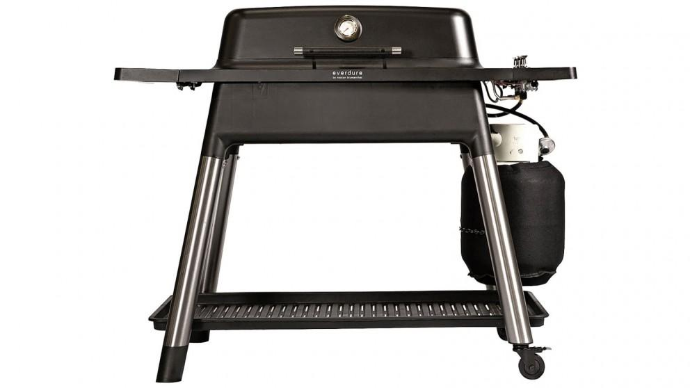 Everdure by Heston Blumenthal FURNACE 3 Burner Gas BBQ with Stand – Black