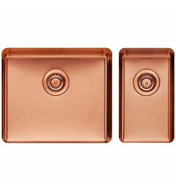 Titan Large and Small Bowl Rose Gold TSRG5228