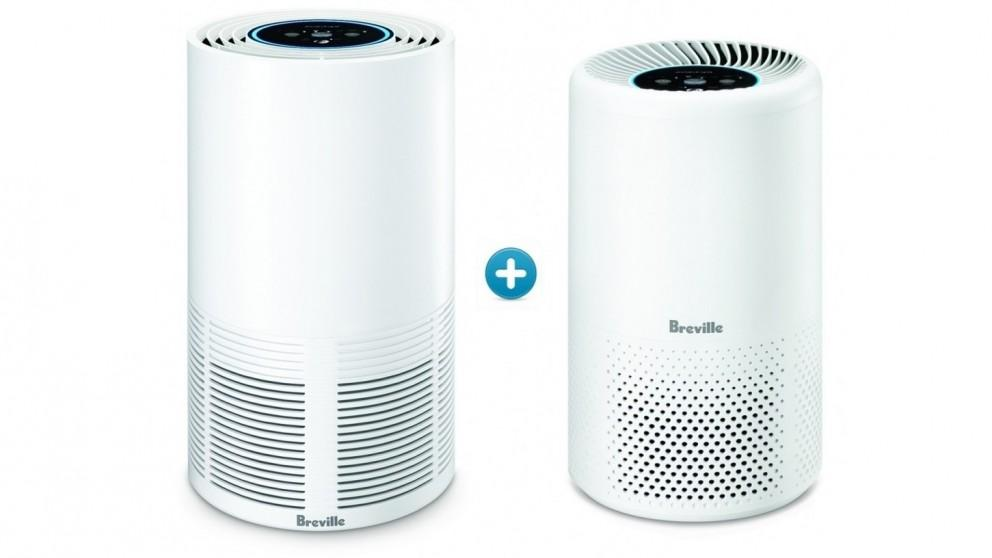 Breville the Smart Air Connect Air Purifier +  the Easy Air Connect Air Purifier Bundle