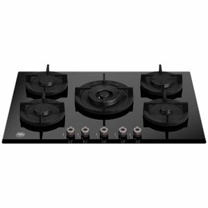 Bertazzoni 75cm Professional Series Natrual Gas Cooktop with Central Wok Burner P755CPROGNE