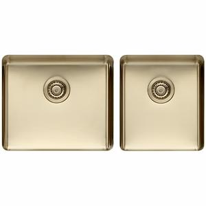 Titan large and Medium Bowl Sink Pearl Gold TSPG4052