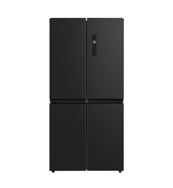 Teka 545L Four Door Refrigerator – Black Stainless Steel T4DF545BX