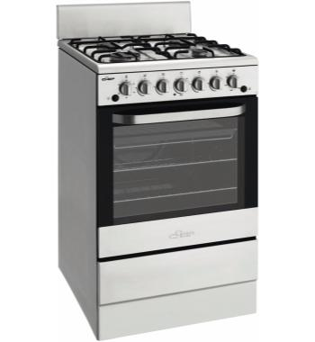 Chef CFG504SALP 54cm Freestanding LPG Gas Oven Stove