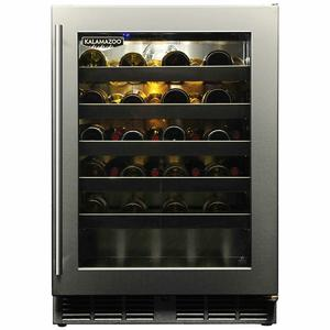 Kalamazoo Outdoor Gourmet 40 Bottle Wine Chiller Cabinet HPA24WO-3-3RL-S4