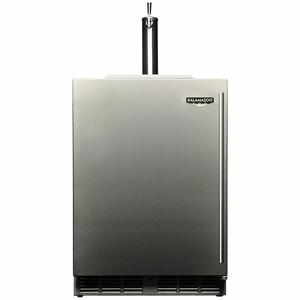 Kalamazoo Outdoor Gourmet 24″ Single Tap Outdoor Refrigerated Keg Tapper HPA24TO-3-1L1L-M6