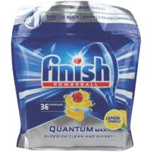 Finish Finish Quantum Max Lemon Powerball 36pk