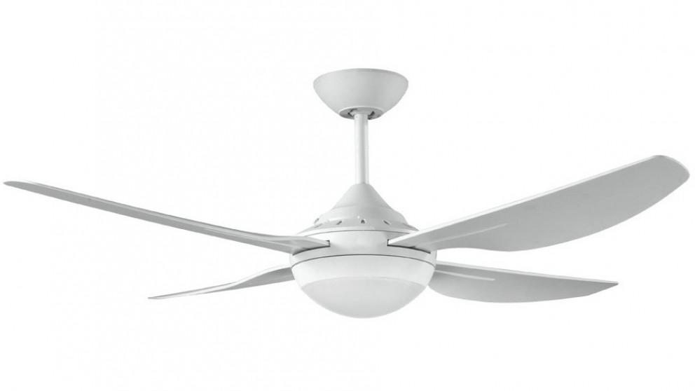 Ventair Harmony II 122cm 4 Blade Ceiling Fan with Light – White