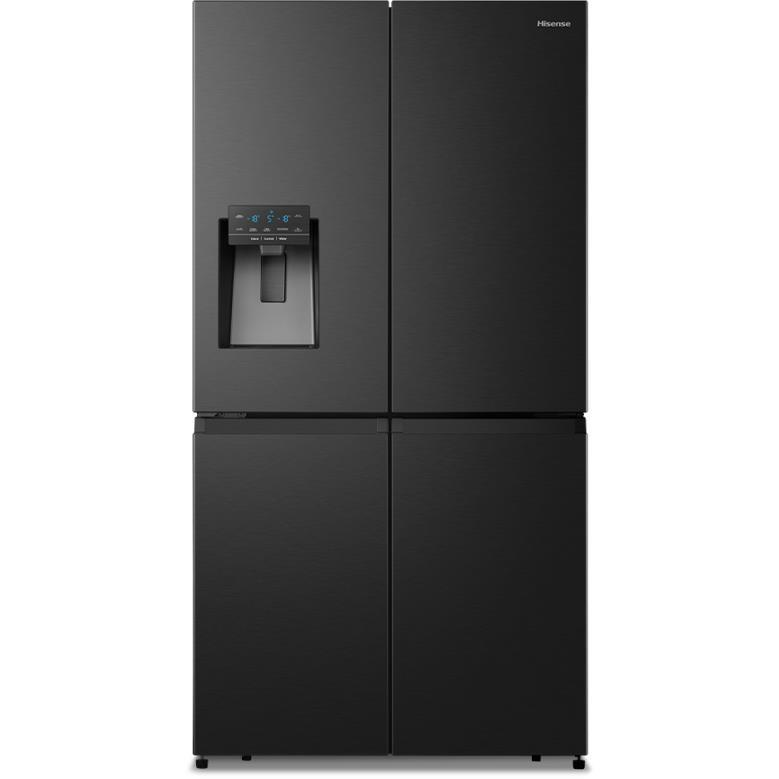 Hisense HRCD650BW 650L French Door Fridge (Black Steel)