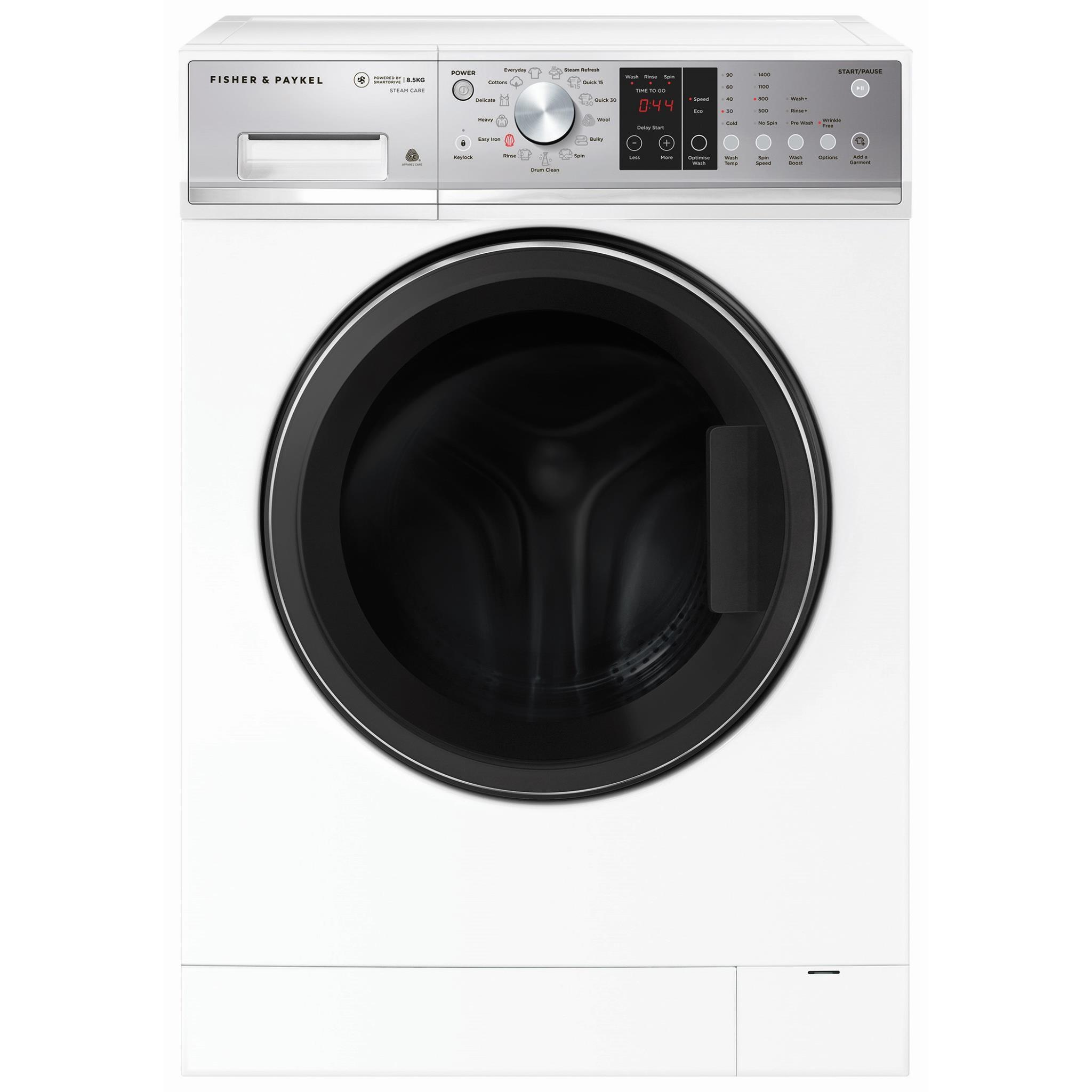 Fisher & Paykel WH8560P3 8.5kg Front Loader Washing Machine
