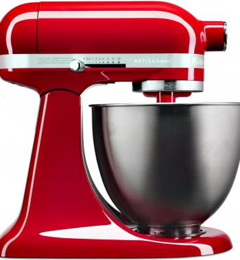 KitchenAid 5KSM3311XAER Mini Stand Mixer Empire Red