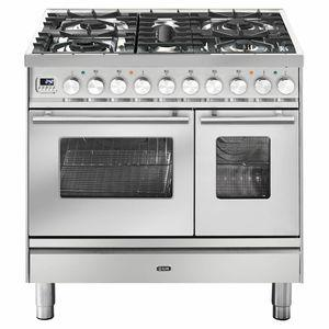 ILVE Professional 90cm Freestanding Dual Fuel Oven/Stove PD09PDWE3SS