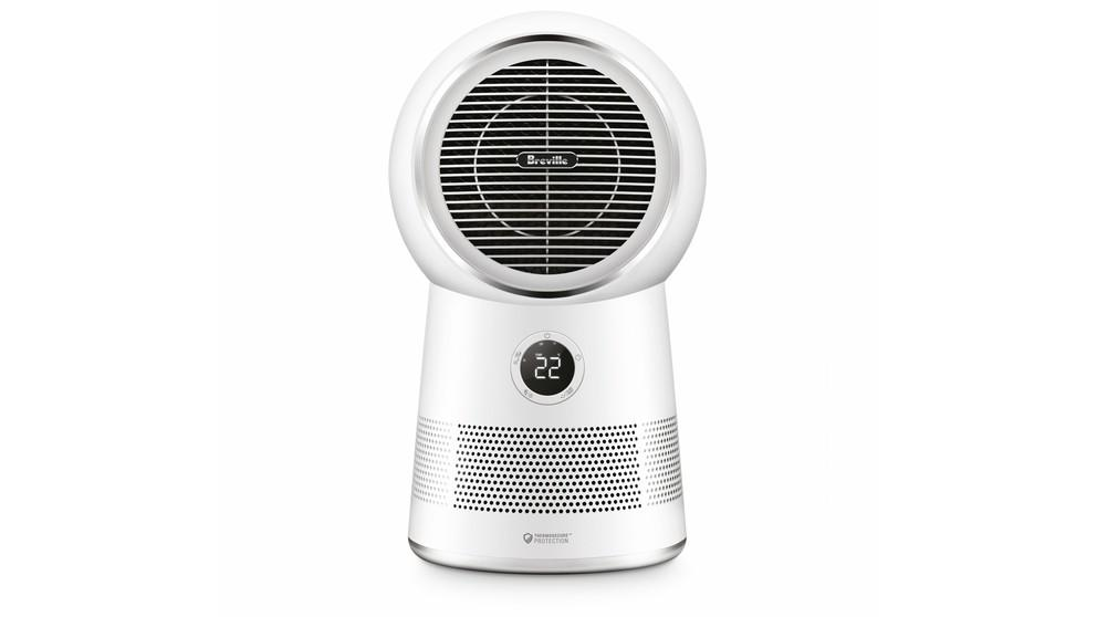 Breville the AirRounder Connect Heater, Fan and Purifier – White