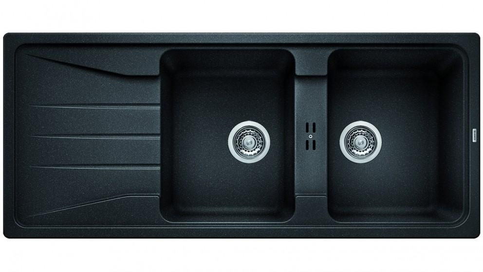 Blanco Silgranit 26L Double Bowl Inset Sink and Mixer Package