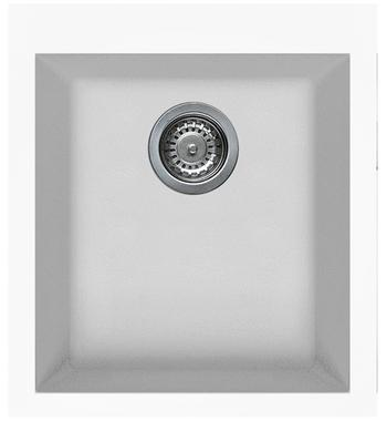 Artusi AGS411W Granitek Series Single Bowl Sink