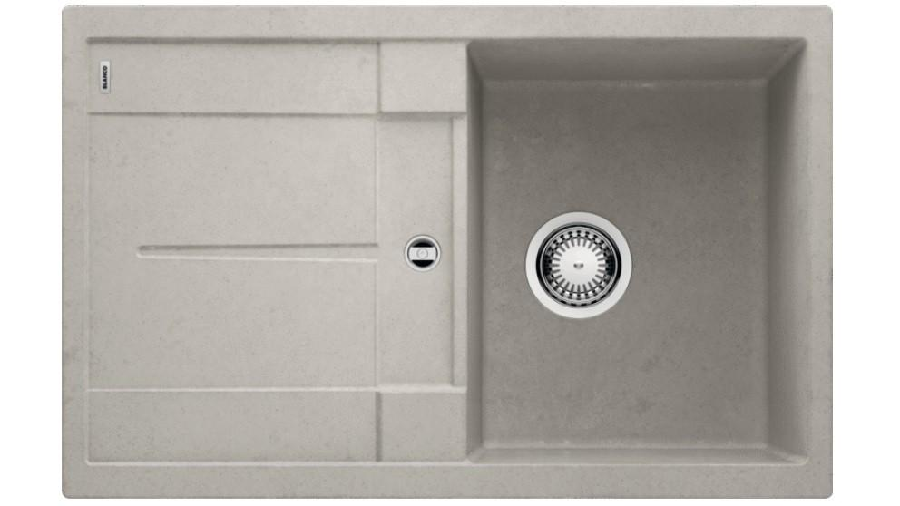 Blanco Metra 45 S Single Bowl Inset Sink with Drainer – Concrete
