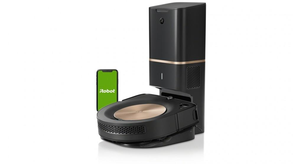 iRobot Roomba s9+ Robotic Vacuum Cleaner with Automatic Dirt Disposal