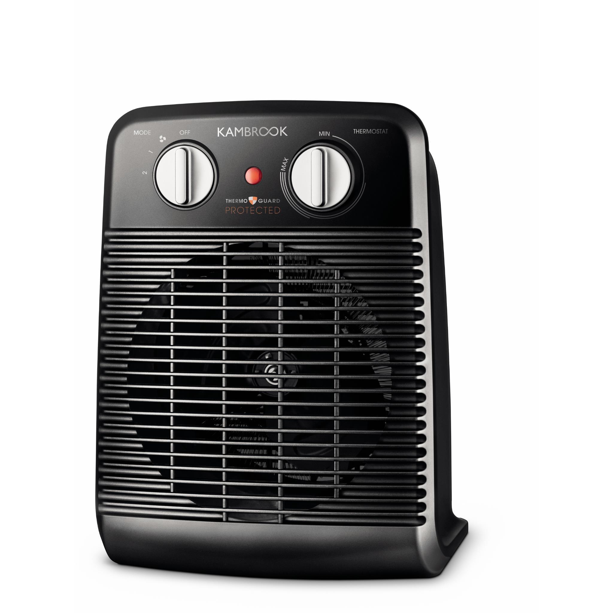 Kambrook Upright Oscillating Fan Heater
