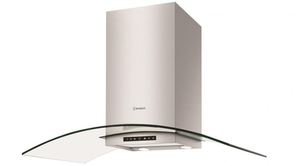 Westinghouse 900mm Stainless Steel and Curved Glass Canoppy Rangehood