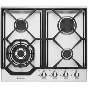 Westinghouse 60cm Natural Gas Cooktop WHG646SA