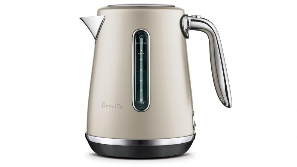 Breville The Soft Top Luxe 1.7L Kettle – Almond Nougat
