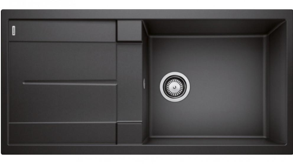 Blanco Metra XL 6 S Single Bowl Inset Sink with Drainer – Anthracite