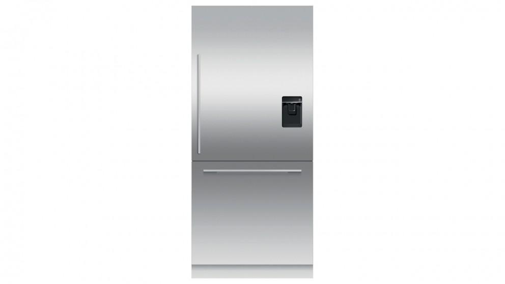Fisher & Paykel 525L Right HInge Integrated Fridge with Ice & Water Dispenser