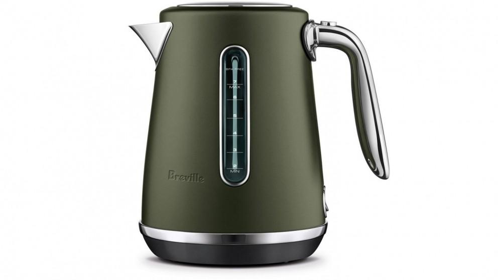 Breville The Soft Top Luxe 1.7L Kettle – Olive Tapenade