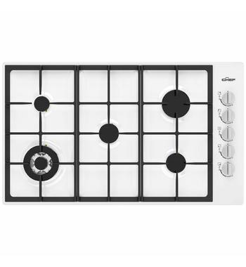 Chef 90cm Natural Gas Cooktop CHG954WC