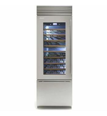 Fhiaba X-Pro 750mm Wine Cabinet with Trimode Drawer Left Hinge XS7490TWT3A
