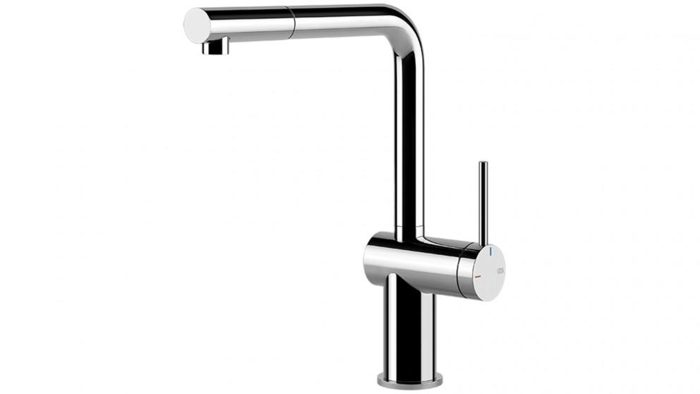 Gessi Inedito Pull Out Kitchen Mixer – Chrome