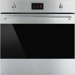 SMEG CLASSIC THERMOSEAL PYROLYTIC OVEN  STAINLESS STEEL PACK 60cm