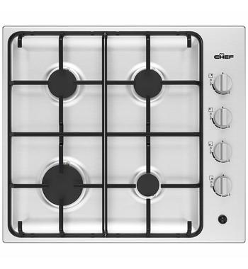 Chef 60cm Natural Gas Cooktop CHG642SC
