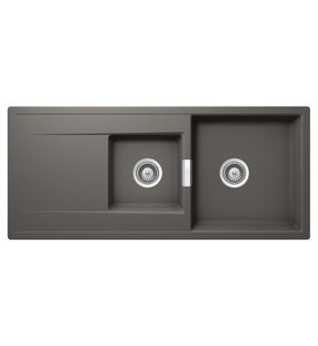 Abey MD-175S Schock Mono 1 and 1/3 Bowl Sink