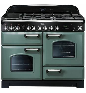 Falcon 110cm Classic Deluxe Freestanding Dual Fuel Oven/Stove CDL110DFMGCH
