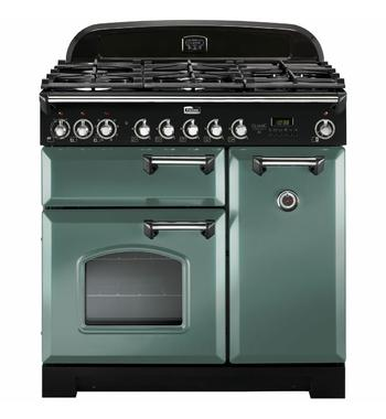 Falcon 90cm Classic Deluxe Freestanding Dual Fuel Oven/Stove CDL90DFMGCH
