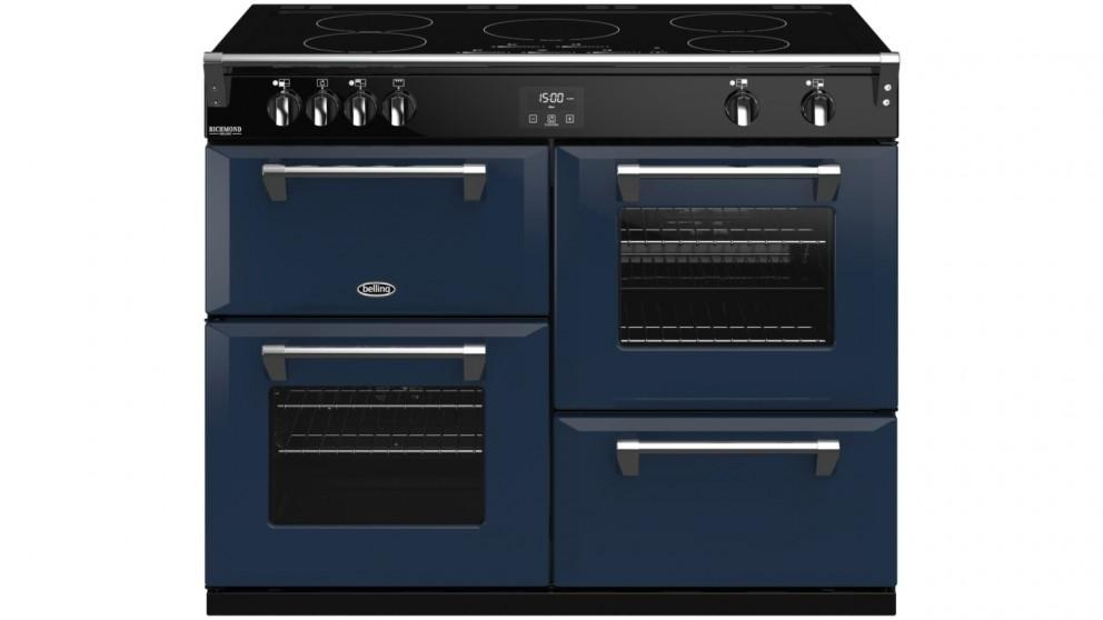 Belling 1100mm Colour Boutique Richmond Deluxe Induction Range Cooker – Midnight Blue