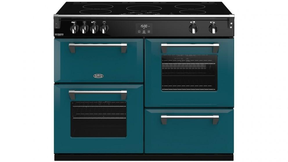 Belling 1100mm Colour Boutique Richmond Deluxe Induction Range Cooker – King Fisher Teal