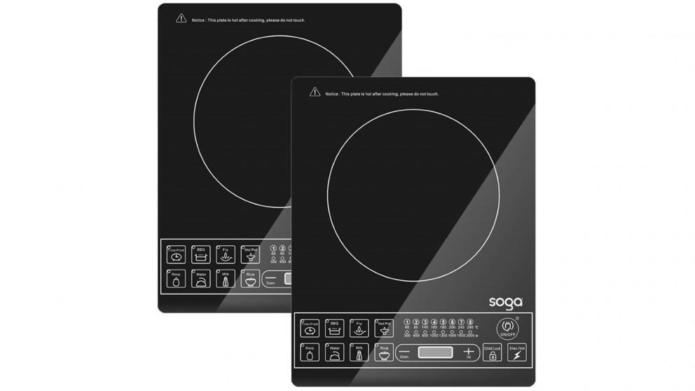 SOGA 2x Electric Smart Induction Portable Cooktop